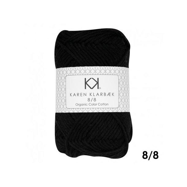 KAREN KLARBÆK Color Cotton 8/8 19 Black