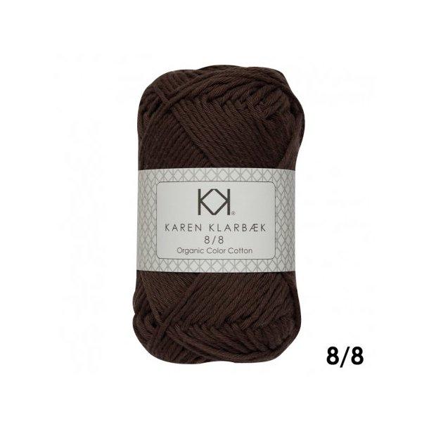 KAREN KLARBÆK Color Cotton 8/8 11 Chocolate