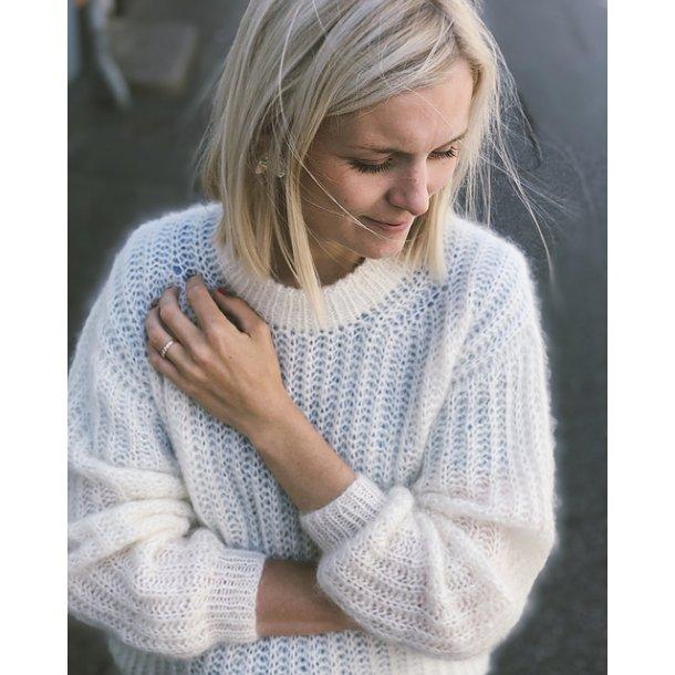 September Sweater PETITE KNIT strikkeopskrift
