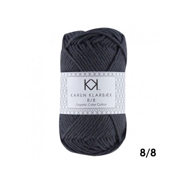 KAREN KLARBÆK Color Cotton 8/8 08 Night shadow